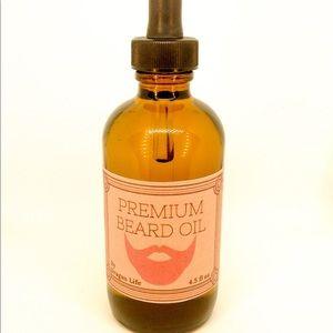 Premium Beard Oil: Jojoba, Argan, Cedar, Hinoki